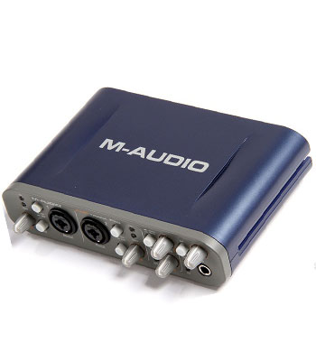 Sound Card M-Audio Fast Track Pro