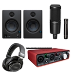 Combo Micro Thu Âm Audio Technica AT2020