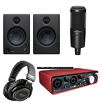 Combo Micro Thu Âm Audio Technica AT2020 4