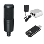 Combo Micro Thu Âm Audio Technica AT2020 2