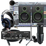 Combo Micro Audio Technica AT2020 và Soundcard Steinberg UR12