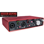 Sound card Focusrite Scarlett 2i4 (gen. 2)